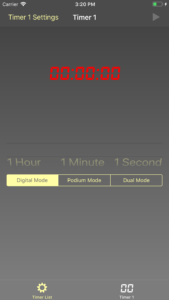 Timer Page