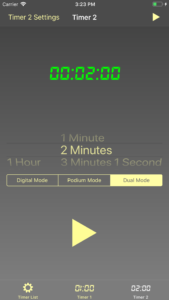 Set Time Display